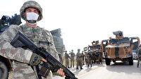 Suriye'de Mehmetçik'in eli tetikte teröristlere göz açtırılmıyor