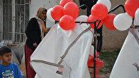 Kağıt toplama arabası çalınan iki çocuk annesine 3 araba hediye edildi