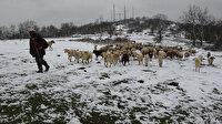 Balkanlar üzerinden gelen kar ile Trakya bembeyaz