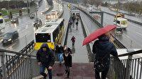 İstanbul'da soğuk ve yağışlı hava etkili oluyor