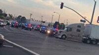 ABD'de polisten kaçan şüpheliyi TIR şoförü yakalattı