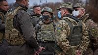 Ukrayna lideri Zelenskiy'den tansiyonun yükseldiği Donbas'a moral ziyareti: Barış mesajı verdi