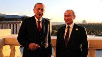 Cumhurbaşkanı Erdoğan Rusya Devlet Başkanı Putin'le görüştü