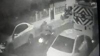Ümraniye'de 35 bin liralık motosiklet hırsızlığı kamerada