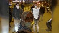 Ayvansaray durağında saatlerce bekleyen vatandaşlar otobüsün önünü kesti