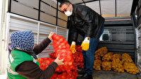 Erdoğan talimatı verdi: Üreticiden alınan patates ve soğan ücretsiz dağıtılacak