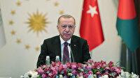 Cumhurbaşkanı Erdoğan'dan D-8 mesajı: Kardeşliğimizi diriltelim