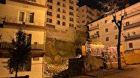 Ankara'da temeli kayan 8 katlı bina çökme tehlikesi nedeniyle boşaltıldı