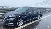 AK Parti Milletvekili Yücel Menekşe trafik kazası geçirdi