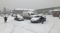 Nisan ayında kar sürprizi: 50 santimetreye ulaştı