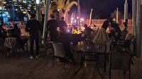 Yasakları hiçe saydılar: 5 yıldızlı otelde şaşırtan parti