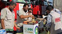 İHH Yemen'de 200 aileye ramazan kumanyası dağıttı