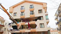 Müteahhitin aymazlığı 8 katlı binayı yıktı