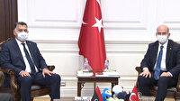 Libyalı mevkidaşıyla bir araya gelen İçişleri Bakanı Soylu: İleriye dönük adımları güçlü bir görüşme olacak