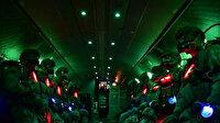 Milli Savunma Bakanlığı paylaştı: İsimsiz kahramanların gece paraşütle sızma atlayışı nefes kesti