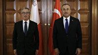 Bakan Çavuşoğlu Malta Dışişleri Bakanıyla görüştü