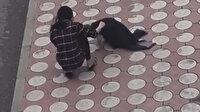Batman'da yürekleri ısıtan görüntü: üşüyen köpeğin üzerine montunu örttü