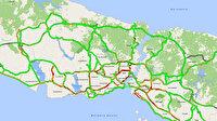 İstanbul'da mesai bitti ilk iftar öncesi trafik başladı: Yoğunluk yüzde 55