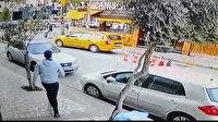 İzmir'de film gibi olay: Kaçırdığı taksi ile yayaya çarpan kadın kovalamaca sonucu yakalandı