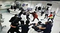 Sivas'ta hasta yakınları güvenlik görevlilerine saldırdı