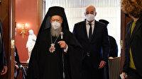 İstanbul'da Fener Rum Patriği Bartholomeos: Dendias ile Bakan Çavuşoğlu'nun görüşecek olmasından memnunuz