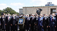 Eski Başbakan Yıldırım Akbulut'a veda: TBMM'de tören düzenlendi