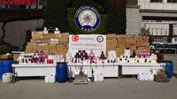 İstanbul'da merdiven altı parfüm operasyonu: 21 bin 439 şişe ele geçirildi