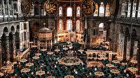 Ayasofya-i Kebir Camisi'nde ramazanın ilk cuması kılındı