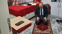Bakan Soylu 'Tabuta Sığmayan Şehid'in ailesiyle iftar yaptı: Kahramanın seccadesinde namaz kıldı