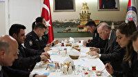 Cumhurbaşkanı Erdoğan ve Bakan Soylu Çengelköy Polis Merkezi'nde iftar yaptı