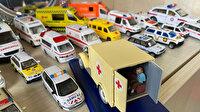 Salgın hastalıklara karşı ambulans koleksiyonu: Dünyanın her yerinde topladı