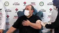 Yerli aşının ilk dozu vuruldu