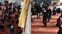 İstanbul'da karantinada olması gerekirken bir kişi cuma namazına gitti