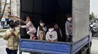 Kısıtlamada 6 çocuğuyla izinsiz ve ehliyetsiz dışarı çıktı:  Günah ceza yazmayın diye yalvardı