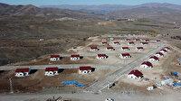 Depremzedeler için inşa edildi: Köy tipi konutlar iki ay içinde teslim edilecek