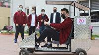 Liseli öğrenciler suyla hareket eden araç tasarladı