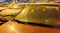 İstanbul'da gece çamur yağdı