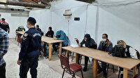Eskişehir'de tavuk çiftliğine kumar baskını