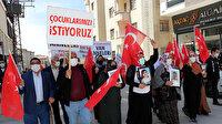 Evlat Nöbeti Van'da: Çocuklarımızın kaçırılmasından HDP sorumlu
