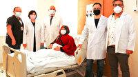 Yozgat'ta 70 yaşındaki kadın aynı anda 3 farklı kanserden kurtuldu