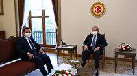 TBMM Başkanı Şentop AYM Başkanı Arslan'ı kabul etti