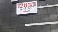 '128 milyar dolar nerede' pankartına 13 bin 237 lira ceza