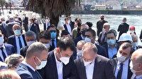 Çevre ve Şehircilik Bakanı Murat Kurum, TOKİ tarafından yapımına devam edilen sahil projesini yerinde inceledi