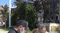 """""""Çok yüksek riskli"""" şehirlerden biri olan Tokat'ta Kovid-19 denetimleri sürüyor"""