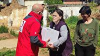 Türk Kızılayı'ndan ihtiyaç sahibi Kosovalı ailelere Ramazan yardımı