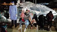 Yunanistan'ın ölüme ittiği 101 düzensiz göçmeni Türkiye kurtardı