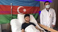 Dağlık Karabağ Savaşı'nda yaralanan 12 Azerbaycanlı gazi Türkiye'de tedavi edilecek