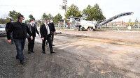 Pursaklar Sirkeli Mahallesi'nin yolları yenileniyor