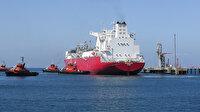 Enerji ve Tabii Kaynaklar Bakanı Dönmez açıkladı: İlk FSRU gemimiz Ertuğrul Gazi Türkiye'de