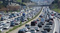 82 saatlik kısıtlama öncesi trafik yoğunluğu yüzde 69'a ulaştı
